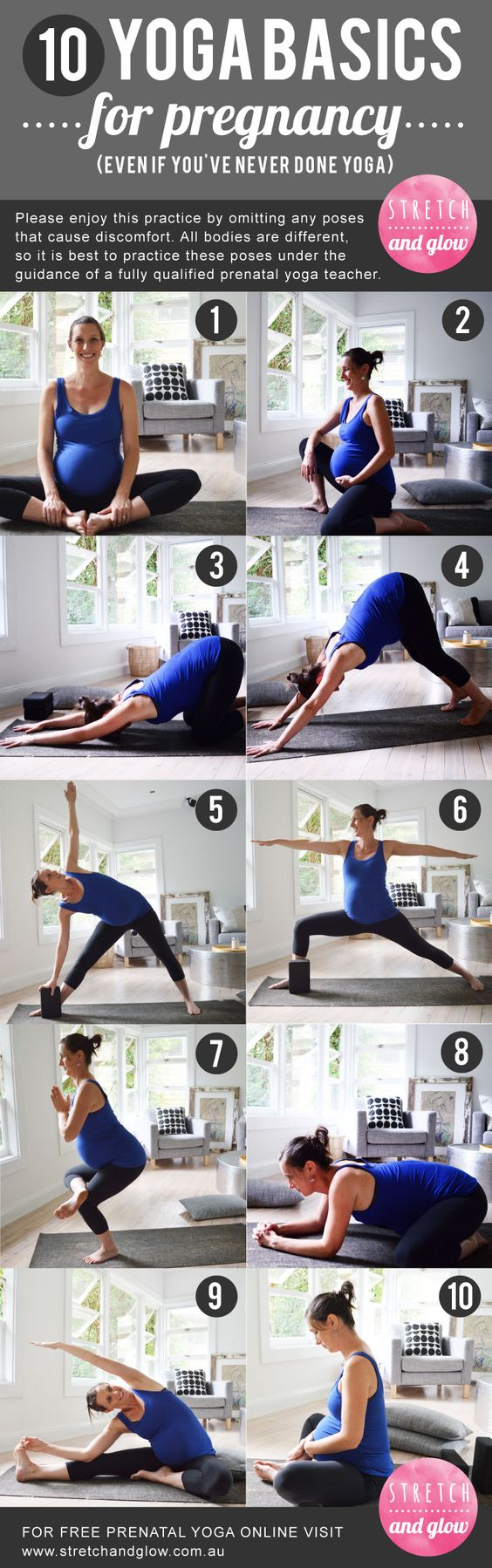 10 YOGA BASICS FOR PREGNANCY