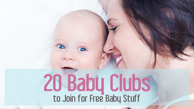 Baby Clubs to Join for Free Baby Stuff